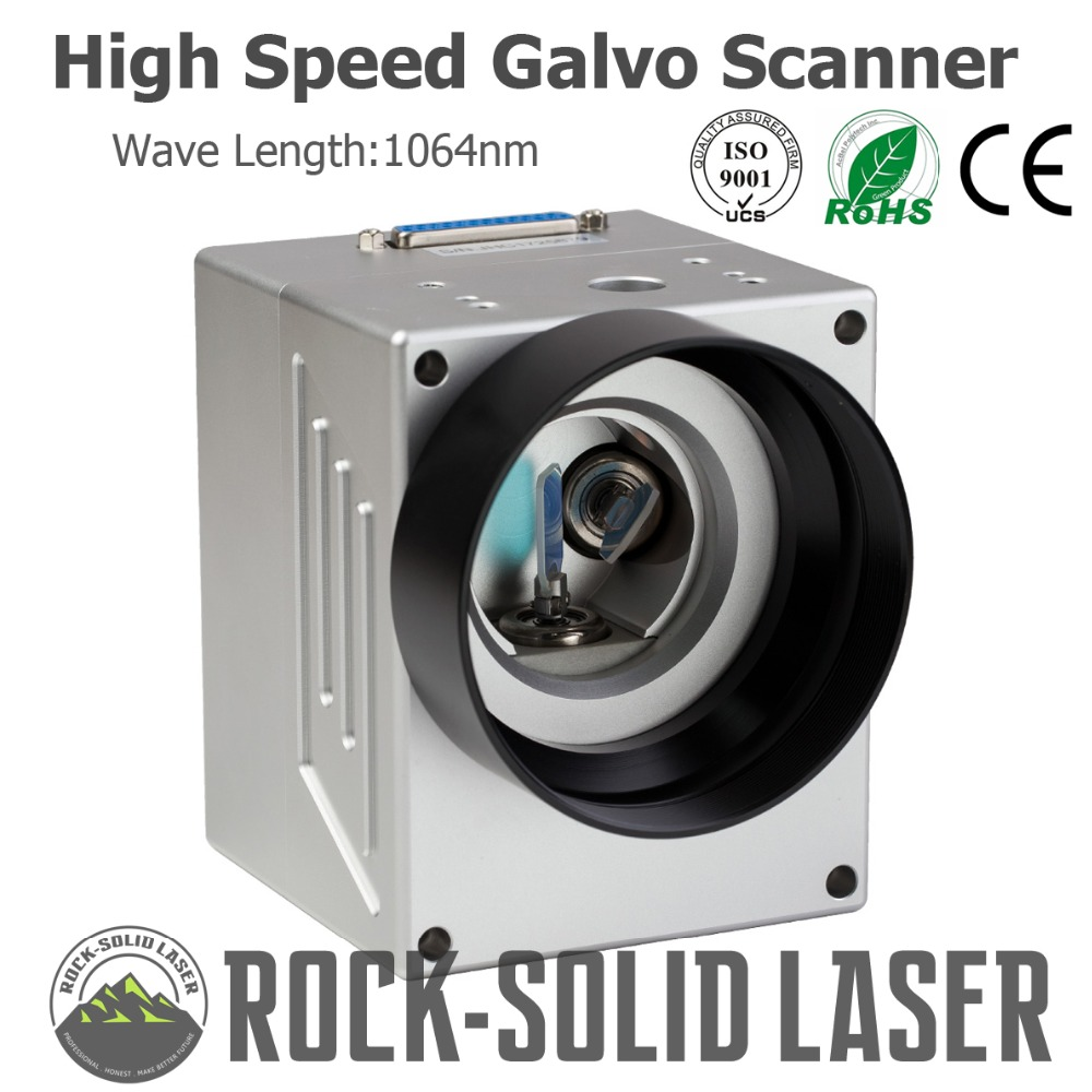High Speed Galvo Scanner Head For Fiber Laser Marking Machine Parts 1064nm Input 10mm SG7110 Galvanometer with Power Supply Set bps 8203 for scanjet n8420 n8300 power supply assembly scanner parts