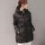De las mujeres chaqueta de Invierno 2016 nueva moda de color sólido hueco de algodón abajo cubre parkas con capucha de la mujer