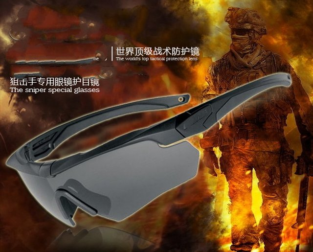 Crossbow bow riding glasses CS anti - impact goggles dust dust windproof sand