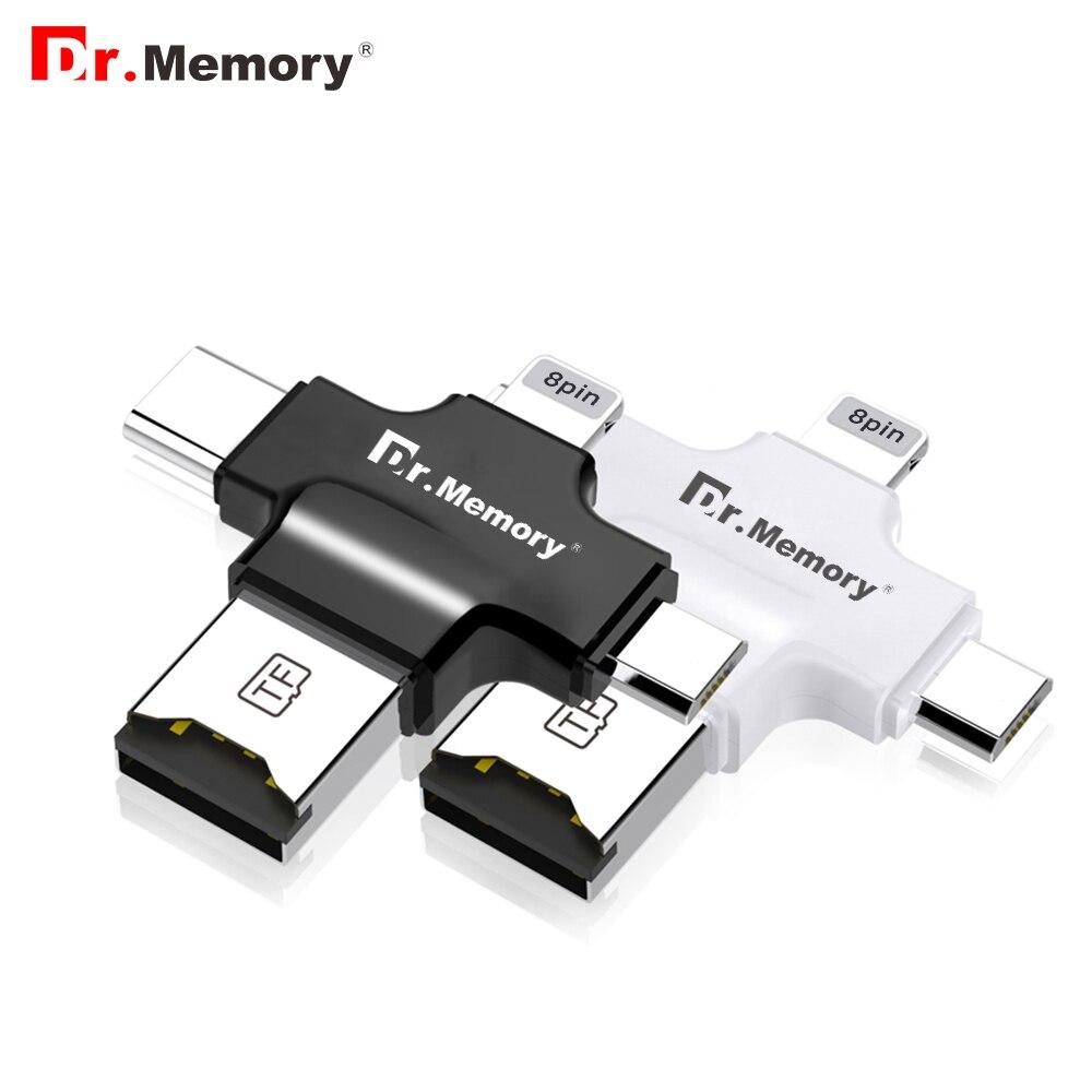 Micro Sd Card Reader Per Apple Iphone 6 S 7 Plus Pendrive Metallo Espansione OTG TYPE-C Adattatore USB Flash Drive 3.0 Memory Reader