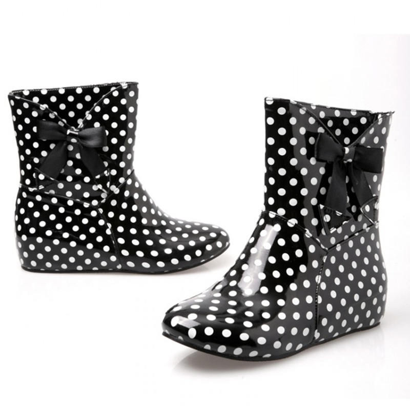 Aliexpress.com : Buy Meotina Shoes Women Rain Boots Ankle Boots ...