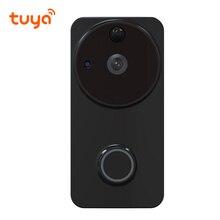 IP54 сертифицированная наружная Tuya батарея питание кольцо Смарт Wi-Fi Включенная видеокамера на дверной звонок PIR Обнаружение движения