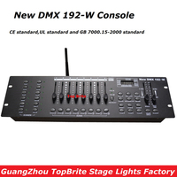 2017 Большая скидка высокое качество 2,4 г Беспроводной DMX контроллер Новый DMX 192 W консоль для сценического Dj лазерный луч света бесплатная дост