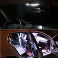 For BMW 3 Series - 318 320 320i 325 335 E90 E92 Package Blubs White LED 12v Dome Interior Light Kit 7pcs per set Car Styling