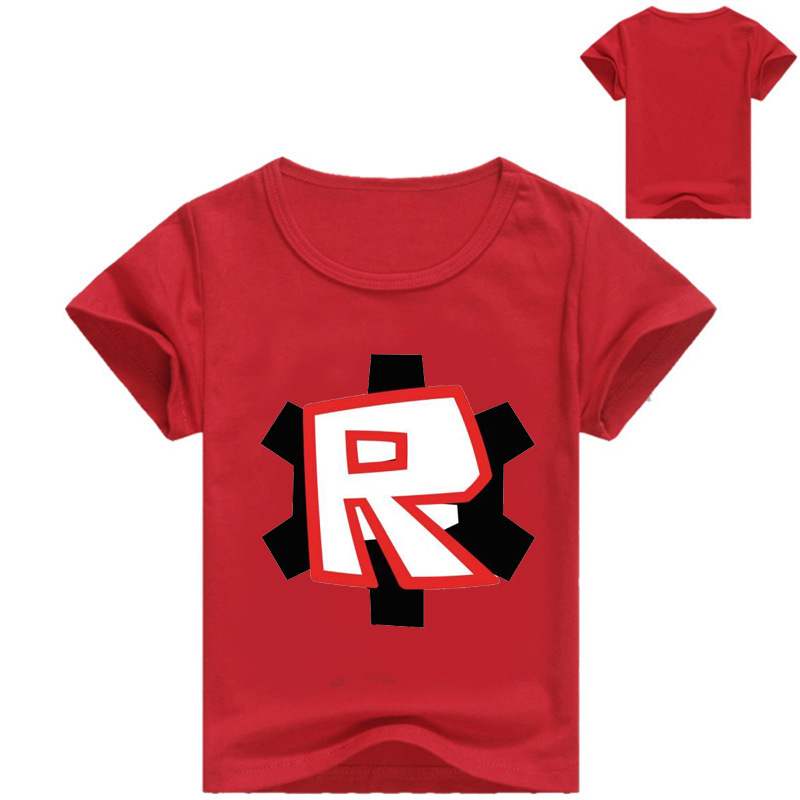 Game Roblox Children Boys Girls 3D Printed Tees Tops T Shirts Summer Cartoon Kids Short Sleeve Clothes Shirt Casual Sports Tee