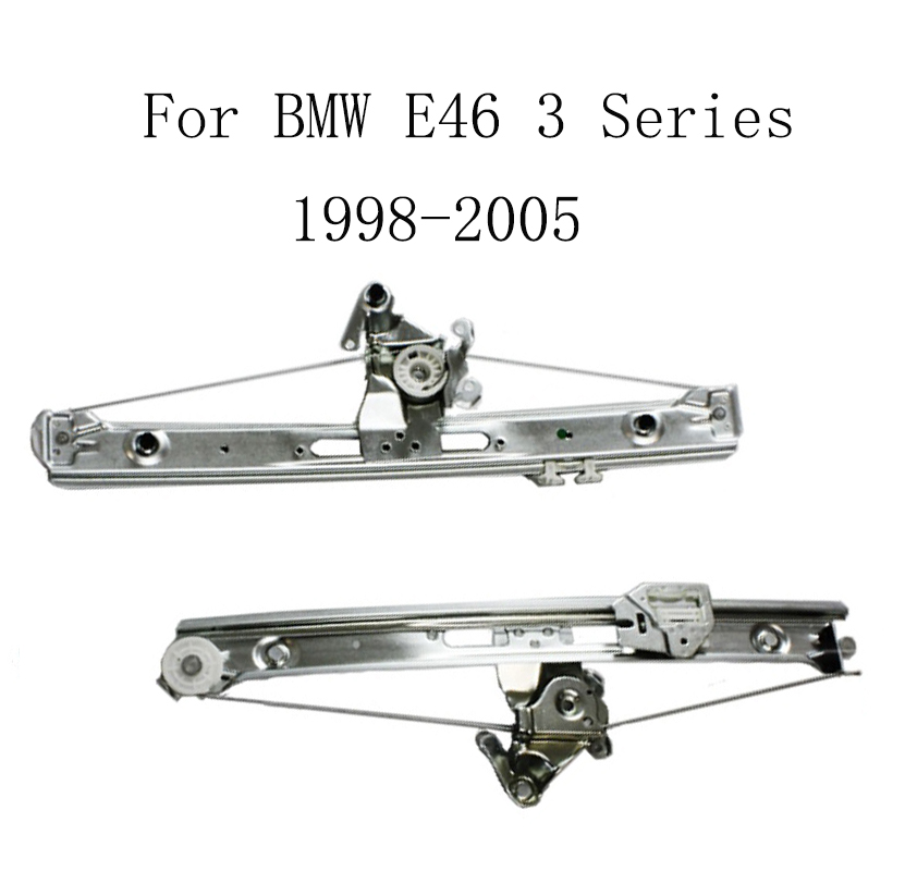 For BMW E46 3 Series 1998 2005 Power Electric Car Window Regulator Window Lifter Replacement Rear