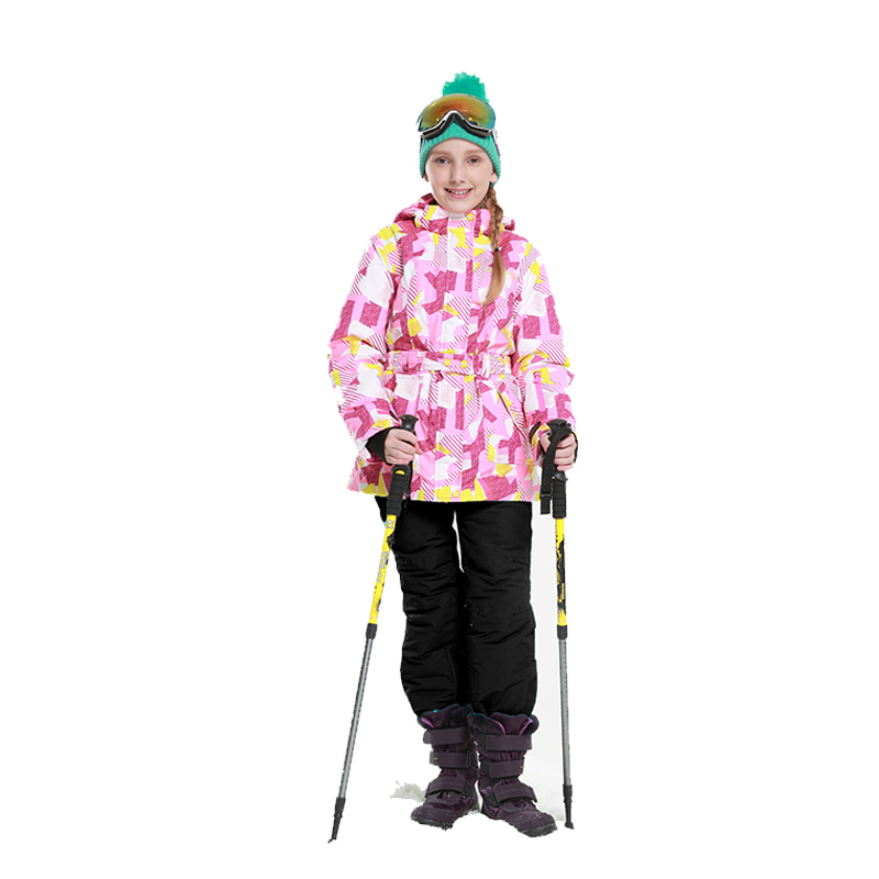 Dollplus 2019 Delle Ragazze di Sci Set Inverno Caldo Giacca Da Sci + pantaloni Chilldren Esterno Impermeabile Antivento Snowboard Vestito Delle Ragazze di SportDollplus 2019 Delle Ragazze di Sci Set Inverno Caldo Giacca Da Sci + pantaloni Chilldren Esterno Impermeabile Antivento Snowboard Vestito Delle Ragazze di Sport