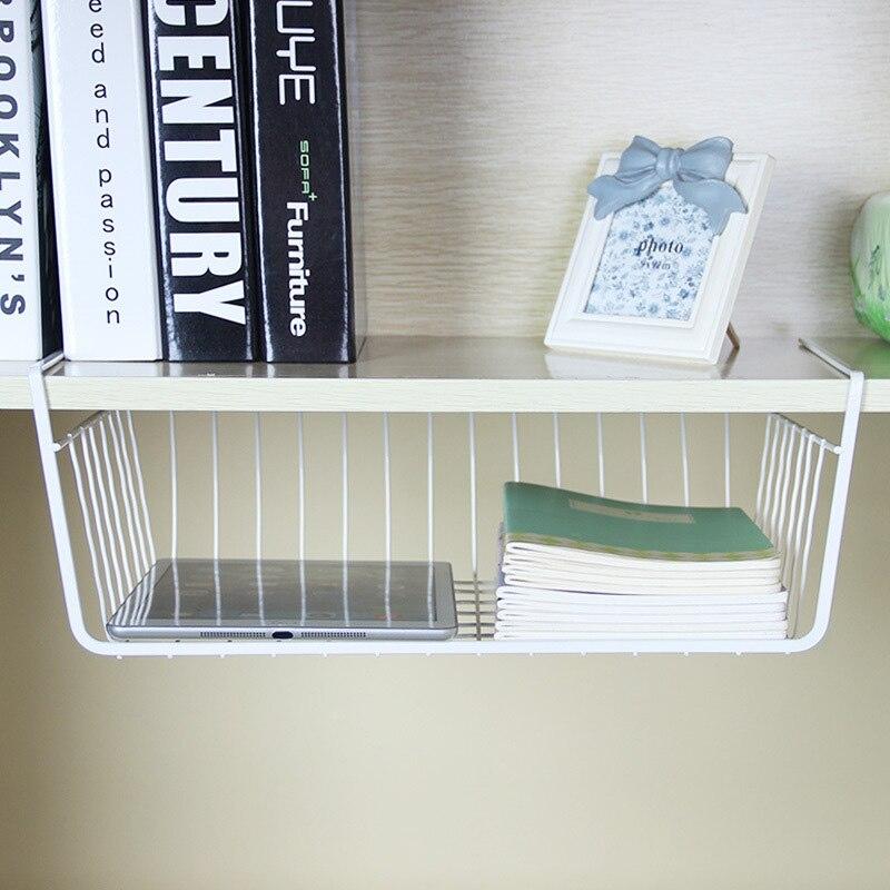40x25x14cm Wrap Kitchen Organizer Holder Shelf Basket Wire Pantry ...