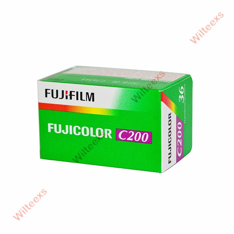 4 Rolle / lot Fujifilm C200 35-mm-Film 35 Belichtung für - Kamera und Foto - Foto 2