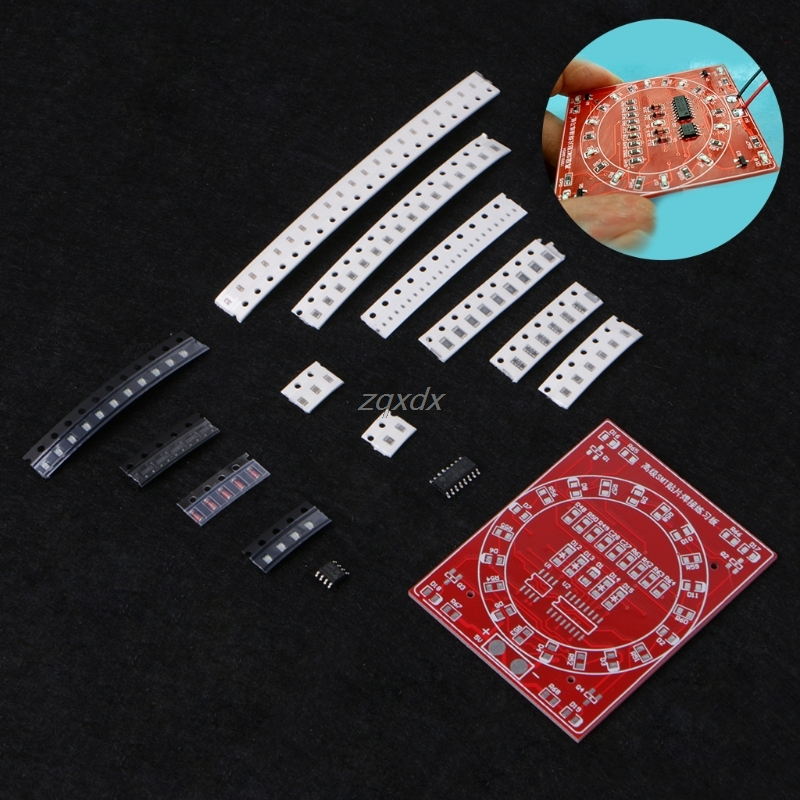 <font><b>SMD</b></font> Electronic Soldering Component Welding Practice <font><b>PCB</b></font> Board DIY Kit Drop ship image