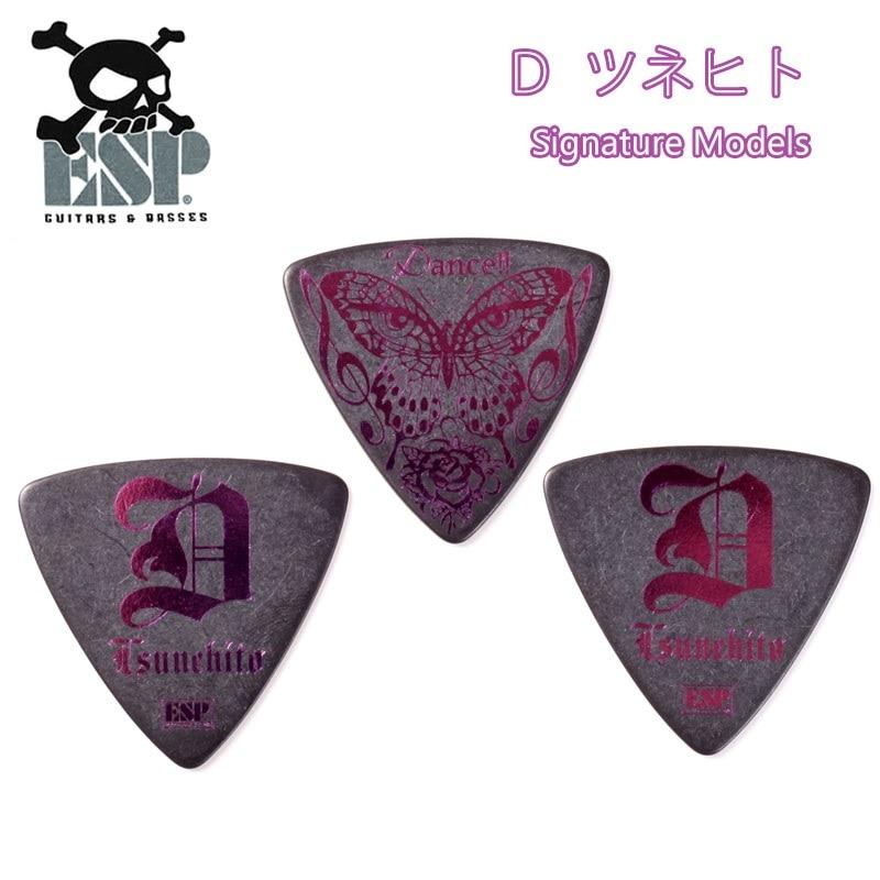 ESP Guitar Artist Pick Series PA-DT10 BLK Tsunehito D Signature Model, 1/piece