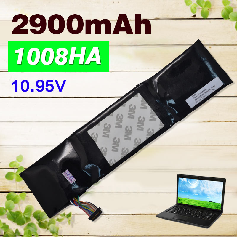 2900mAh 10.95V Laptop Battery for Asus Eee PC 1008 1008H 1008HA 1008HAB 1008HAG AP31-1008HA  AP32-1008HA нетбук asus eee pc 1005p