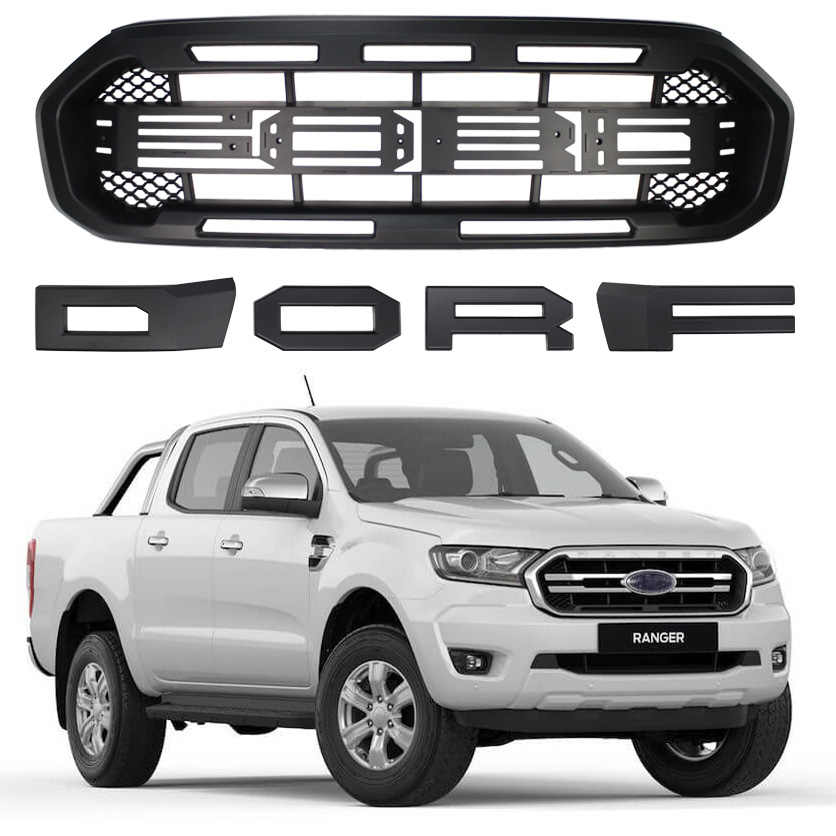 Raptor Grille Modified Grill Front Bumper Mesh Fit For
