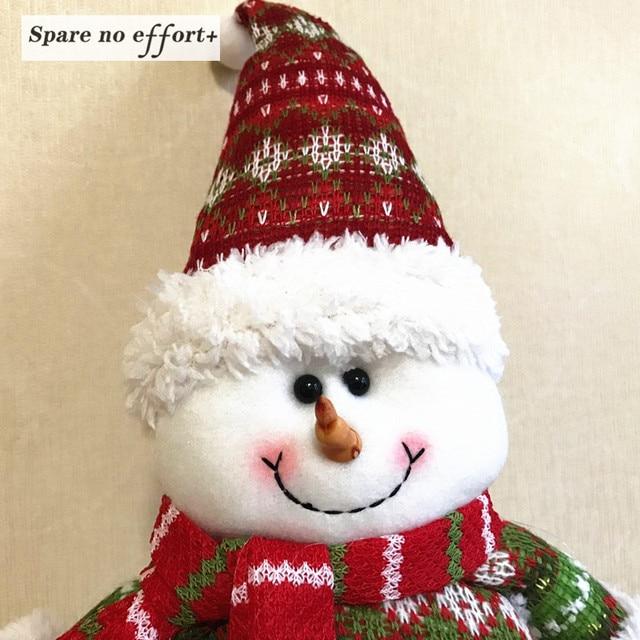 Tienda Online Retráctil Navidad Papá Noel/Muñeco de Nieve Muñecos De ...