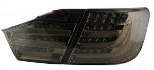 Image 3 - 2 قطعة سيارة التصميم ل كامري العلوي 2012 2013 2014 سنة كامري الضوء الخلفي DRL ثنائية زينون عدسة عالية منخفضة شعاع وقوف السيارات الضباب