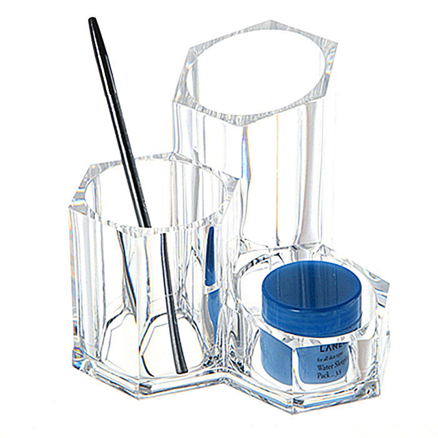 New Design Clear Acrylic Cosmetic Organizer Makeup Jewelry Cosmetic
