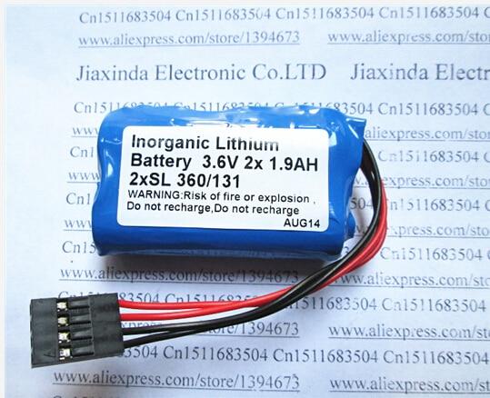 HOT NEW Schneider 3.6V 2x1.9ah 2xSL360/131 360/131 SL360 lithium battery SL360/131 batterise Tsx17 battery  Take the plugHOT NEW Schneider 3.6V 2x1.9ah 2xSL360/131 360/131 SL360 lithium battery SL360/131 batterise Tsx17 battery  Take the plug