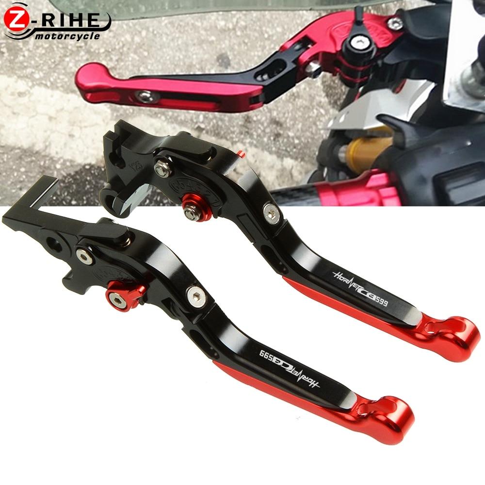 Moto Accessoires Court Leviers D'embrayage De Frein Pour Honda CB 599 600 CB599 CB600 HORHET 1998-2006 1999 2000 2001 2002 2003