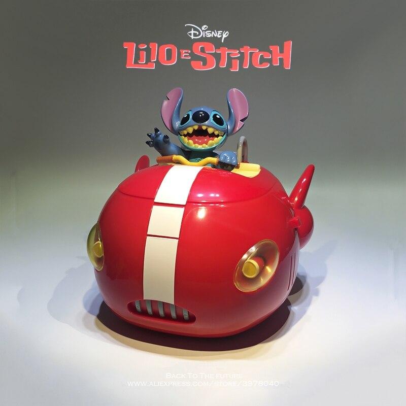 Disney Lilo & Stitch Space ship storage box 20cm Action Figure Anime Decoration Collection Figurine Toy model for children gift 15 5cm anime figure lilo