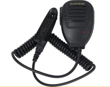 BESTE Baofeng uv-9r era Lautsprecher Mic Mikrofon PTT für Baofeng UV 9R plus A58 UV-XR GT-3WP RT6 Wasserdicht Radio Walkie talkie(China)