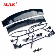 цены New 1:10 Scale RC Car Body Rear Spoiler Tail Wing Side Mirror fit 1/10 Vehicles Toys Accessory for Collections