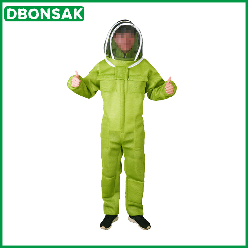 Beekeeping-Suit Clothing-Protective-Beehive Anti-Bee For Professional Equipment Air-Conditioning