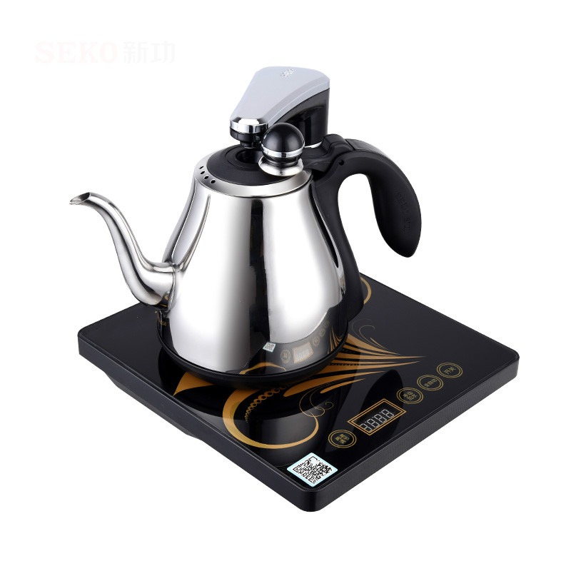 Automatic upper water electric kettle teapot tea set intelligent 304 automatic upper water electric kettle pump 304 stainless steel tea set