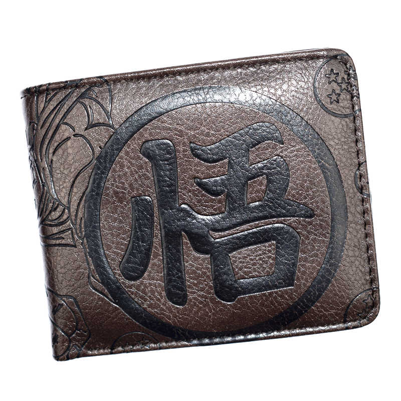 FVIP New Arrival Anime Japanese Cartoon Wallet High Quality Dragon Ball/Totoro/Naruto/One Piece Wallets for Young