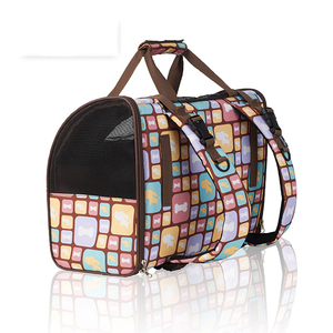 Image 5 - Luxury Canvas Dog Carrier Backpack Bag Shoulder Handbag Pet Little Medium Animal Travel Outdoor Transport Portable Tote Cat Good