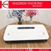 HZPK Home Vacuum Sealer Auto/Manual Vacuum Machine For The Home Kitchen Equipment Sealer Vacuum Bags Roll For Food Saver HZ 300