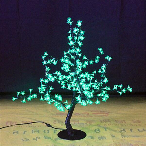 Free navio LEVOU Cereja Artificial flor Da Árvore Para Casa Casamento Decoração de Natal 200 LEDs 31.5