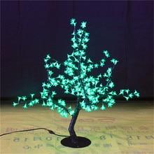 Бесплатная доставка LED искусственный цветок вишни Главная Свадебные Рождество украшение 200 светодиодов 31.5 «= 80 см 7 цветов вариант водонепроницаемый