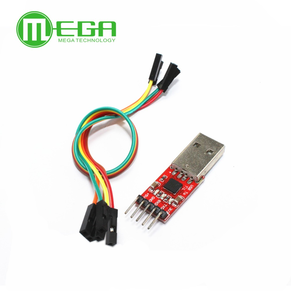 5 шт. CP2102 модуль USB для ttl Серийный UART STC кабель для загрузки PL2303 супер кисть линия обновления