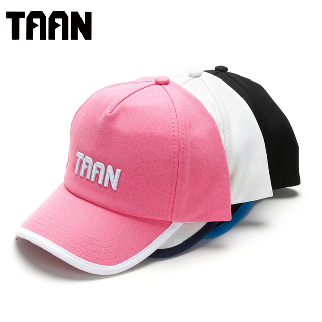 TAAN Baseball Cap Outdoor Hat Polo Hat Sport Black White Running  Mountaineering Tennis Peaked Caps e9ed24a3b75