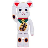 Medicom Toy 1000% Be@rBrick BFF OriginalFake Brian Street Art Lucky Cat Vinyl Action Figure Collectible Model Toy 70CM S283