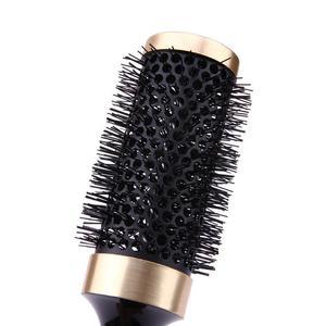 Image 4 - Profesjonalna szczotka do włosów grzebień Salon okrągła szczotka do włosów kręcenie włosów grzebień fryzjerstwo żaroodporne szczotki do włosów stylizacja akcesoria
