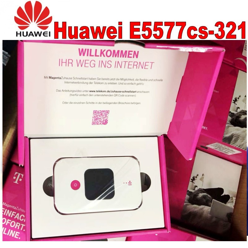 Lot of 10pcs Unlocked Huawei E5577 Wifi mobile Hotpot LTE FDD 150Mbps 4G Portable wireless Modem original unlocked huawei e3372 m150 2 lte fdd 150mbps 4g lte modem support lte fdd 800 900 1800 2100 4g crc9 49dbi dual antenna