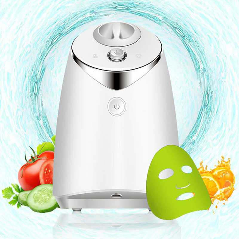 FDA Mask Maker Automatic Machine Facial Treatment DIY Fruit Natural Vegetable Collagen Face Mask Home Use Beauty SPA Machine 1 set professional face care diy homemade fruit vegetable crystal collagen powder facial mask maker machine skin whitening
