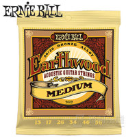 Ernie Ball Earthwood Acoustic Guitar Strings Bronze Alloy 80 20 Made In USA High Quality 2002