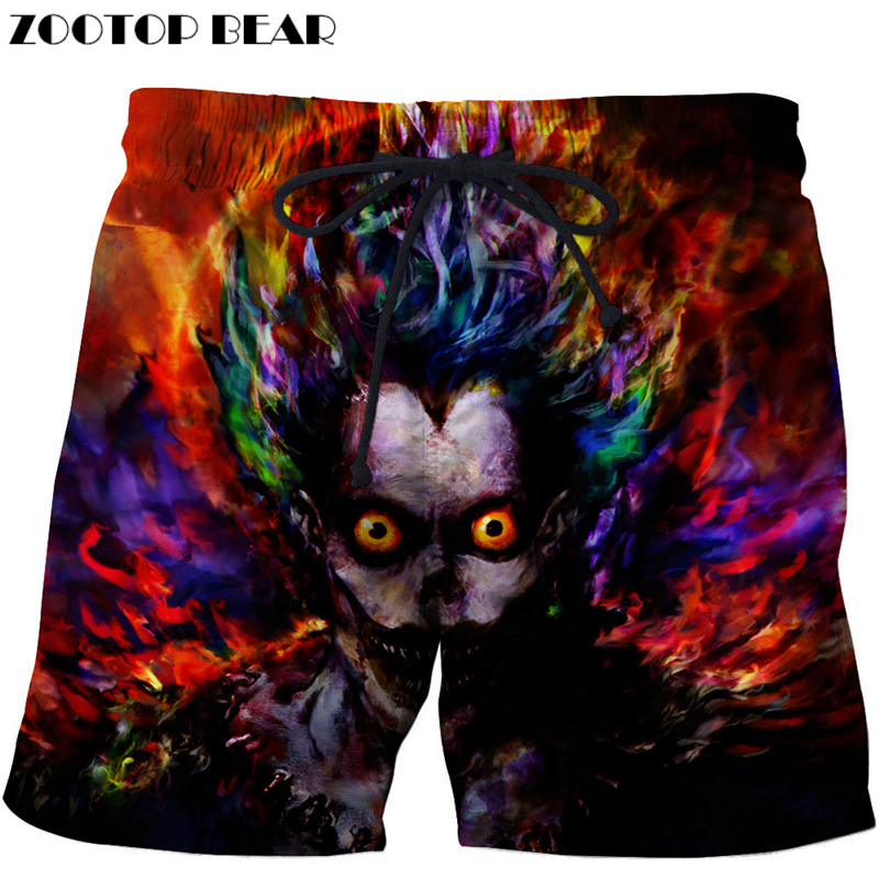 Funny Printed Beach Shorts Men Board Shorts 3d Shorts Plage Homme Swimwear Quick Dry Pants Anime Pants Drop Ship ZOOTOP BEAR
