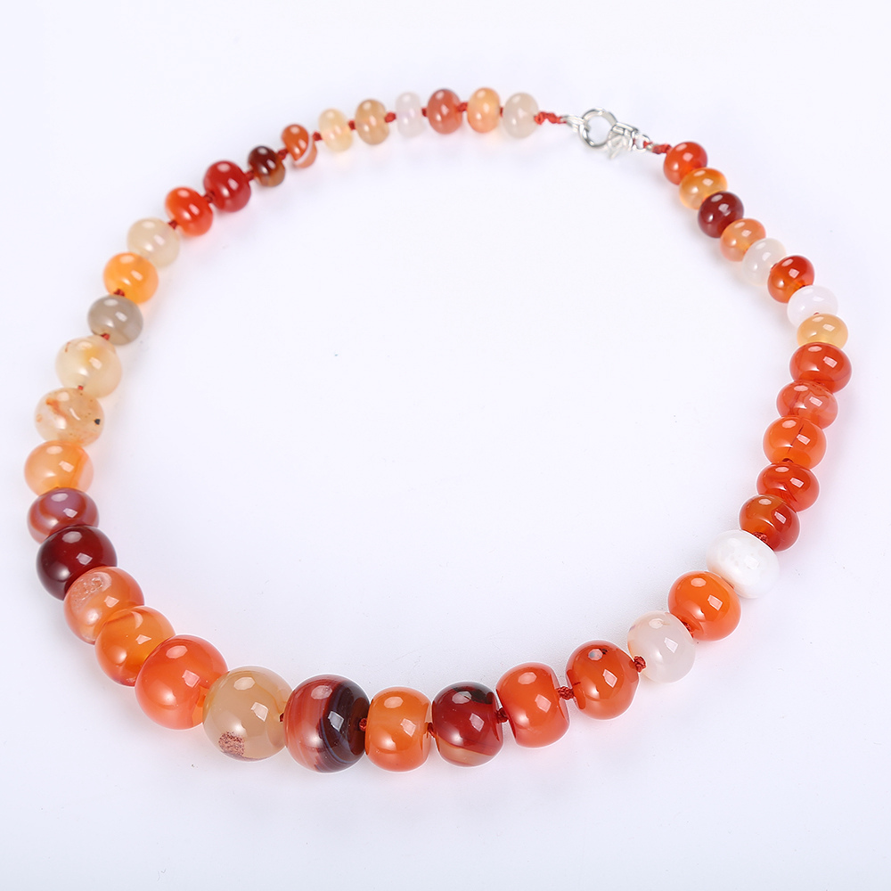 Natural Agate Necklace Jade Necklace For Men Women Rainbow Crystal Charm Chain Yoga Jewelry Baby Ambar Polished Baltic AmberNatural Agate Necklace Jade Necklace For Men Women Rainbow Crystal Charm Chain Yoga Jewelry Baby Ambar Polished Baltic Amber
