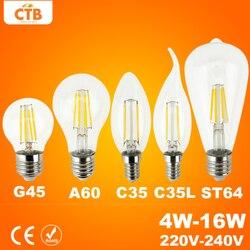 Good e27 e14 antique led edison bulb 220v retro led filament light vintage led glass bulb.jpg 250x250