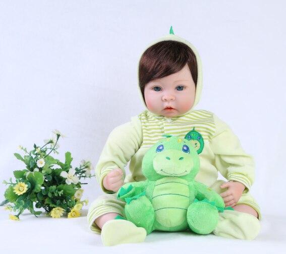 55cm Reborn Babe Doll Silicone Dolls Kid