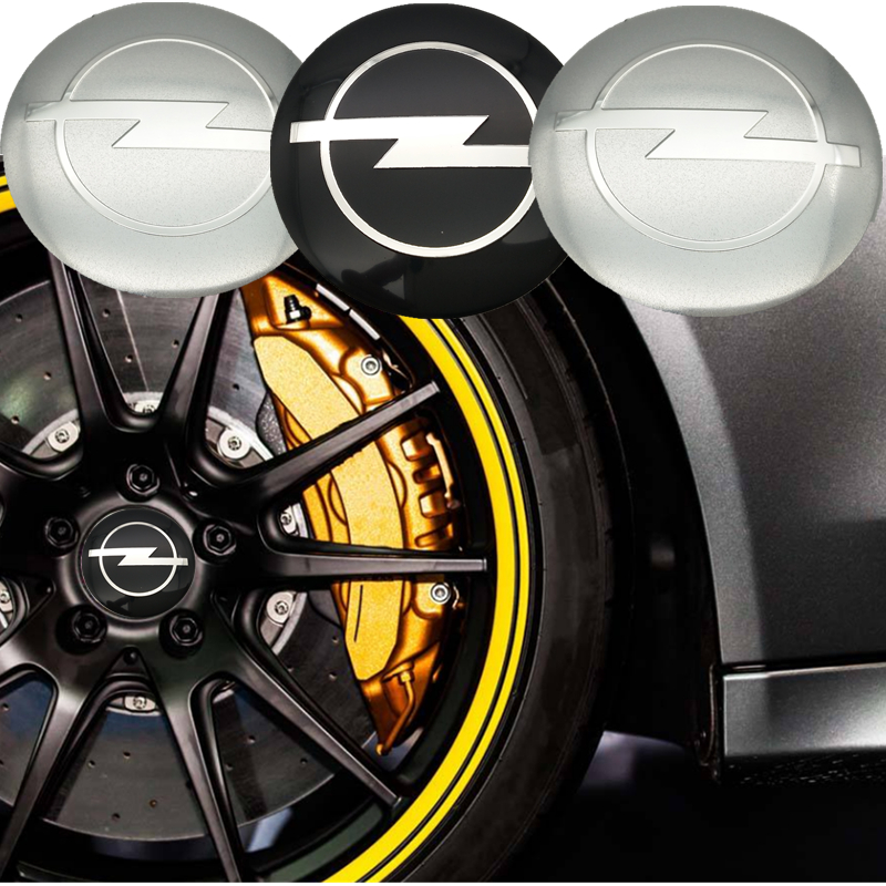YONGXUN 56.5mm for Opel logo car emblem Wheel Center Hub sticker badge covers Aluminum sticker Fender Car styling Accessories chrome camaro shield for 2016 2017 camaro front fender emblem badge sticker