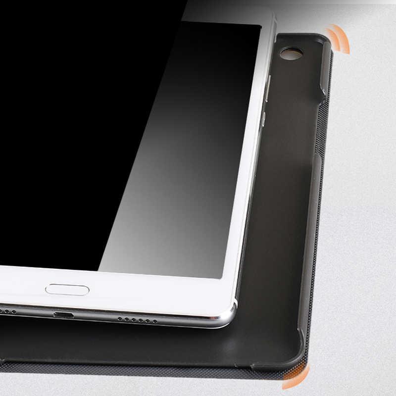 Новые магнитные матовая кожа Smart Case для huawei MediaPad M3 lite 8,0 CPN-W09 CPN-AL00 Авто Услуга сна Стенд флип-чехол + подарок