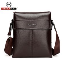 FEIDIKA BOLO Brand Bag Men Messenger Bags Crossbody for Men Shoulder Bags Business Mens Bag Man Shoulder Leather Handbag Satchel
