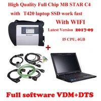 Mb Star c4 Phần Mềm SSD/HDD Vediamo + DTS Lenovo T420 I5 CPU Chất Lượng Tốt Nhất Sẵn Sàng Để Sử Dụng Vận Chuyển miễn phí