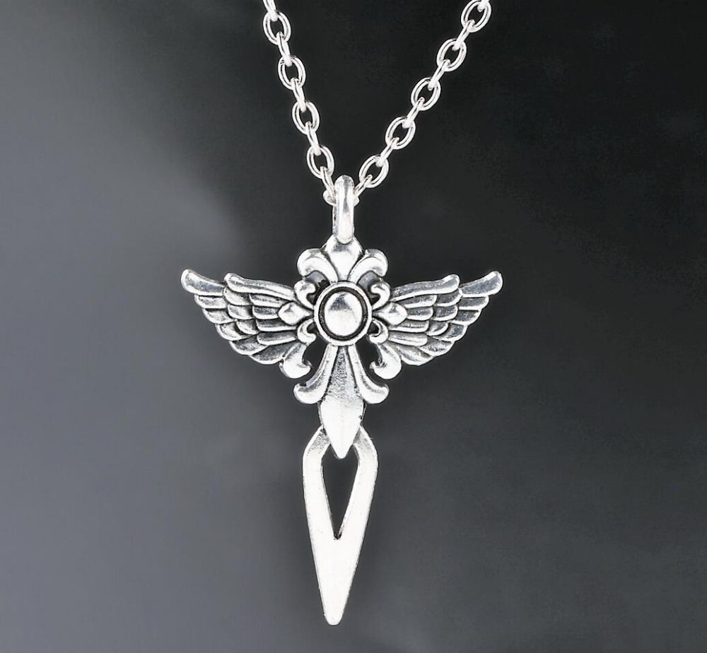 guardian angel wings cross charms alloy pendants necklaces. Black Bedroom Furniture Sets. Home Design Ideas