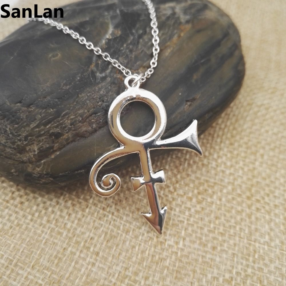 10pcs 2016 fashion style prince love symbol necklacethe minimalism 10pcs 2016 fashion style prince love symbol necklacethe minimalism silver singer necklaceprice artist necklace sanlan in pendant necklaces from jewelry buycottarizona Choice Image