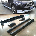 2009-2014 PP Preto Primer Auto Car Bumper Kit Styling, body kit para infiniti fx35 2009-2014 venda quente